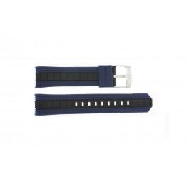 Cinturino per orologio Festina F16664-3 Gomma Blu 23mm