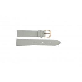 Cinturino per orologio Festina F16944-1 Pelle Bianco 18mm