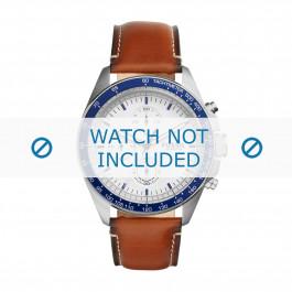 Cinturino per orologio Fossil CH3029 / CH3022 Pelle Marrone 22mm