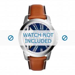 Cinturino per orologio Fossil ME1161 Pelle Marrone 22mm