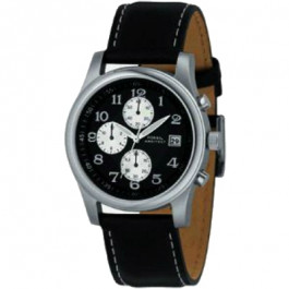Cinturino per orologio Fossil FS2898 Pelle Nero 22mm