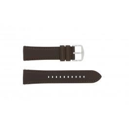 Cinturino per orologio Fossil FS4735 / FS4813 Pelle Marrone 22mm