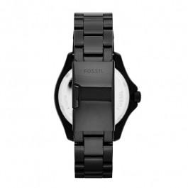 Cinturino per orologio Fossil AM4522 Acciaio Nero 20mm
