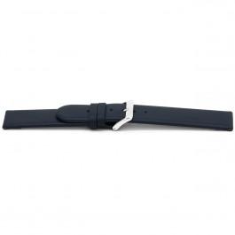 Cinturino per orologio Universale G607 Pelle Blu 20mm