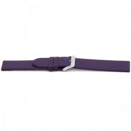 Cinturino per orologio Universale G801 Pelle Viola 20mm