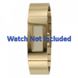 Cinturino per orologio DKNY NY4041 Acciaio Placcato oro