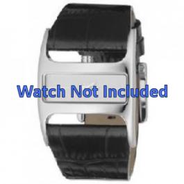 Cinturino per orologio DKNY NY4179 Pelle Nero 29mm