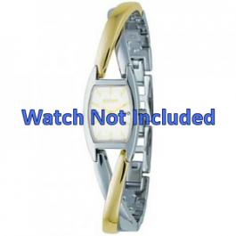 Cinturino per orologio DKNY NY4634 Case / Strap Acciaio Bi-colore 13mm