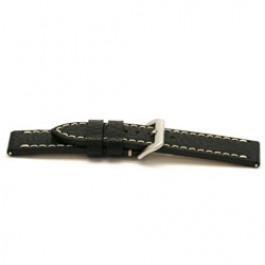 Cinturino orologio Pelle Nero 24mm EX-I109