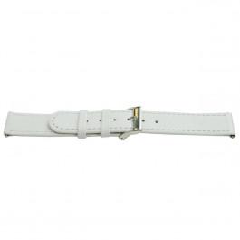 Cinturino per orologio Universale H500 Pelle Bianco 22mm
