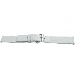 Cinturino per orologio Universale H520 Pelle Bianco 22mm