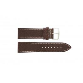Cinturino per orologio Universale I320 Pelle Marrone 24mm