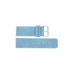 Cinturino per orologio Universale J625 Pelle Blu 26mm