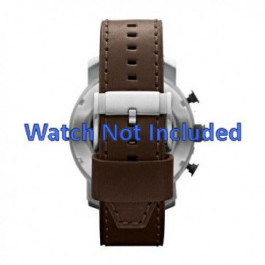 Cinturino per orologio Fossil JR1390 Pelle Marrone 24mm
