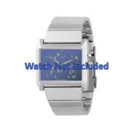 Cinturino per orologio Fossil JR8539 Acciaio 28mm