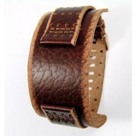 Cinturino per orologio Fossil JR9040 Pelle Marrone 22mm