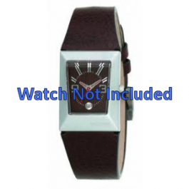 Cinturino per orologio Fossil JR9407 Pelle Marrone 20mm