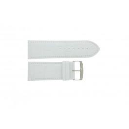 Cinturino per orologio Universale 305R.09 Pelle Bianco 30mm