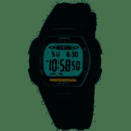 Cinturino per orologio Casio LW-201 Plastica Nero 15mm