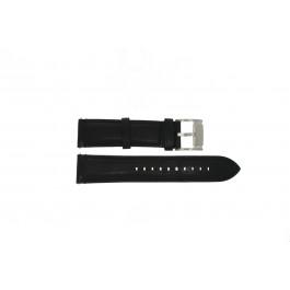 Cinturino per orologio Fossil ME3104 / ME3101 Pelle Nero 22mm