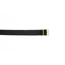Cinturino per orologio Universale PRLN.14 Nylon/perlon Nero 14mm
