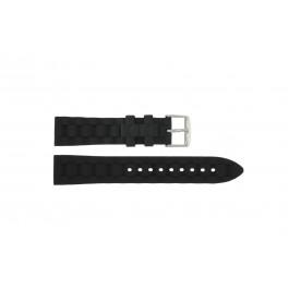 Cinturino per orologio Universale PU106.01 Plastica Nero 20mm