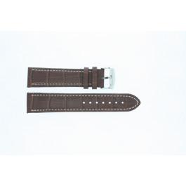 Cinturino per orologio Universale 308R.02 Pelle Marrone 22mm