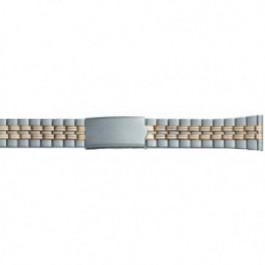 Cinturino per orologio Universale DD100 Acciaio Bi-colore 20mm
