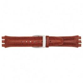 Cinturino per orologio Swatch (alt.) 247.07M Pelle Marrone 19mm