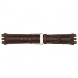 Cinturino per orologio Swatch (alt.) 247.06PL Pelle Rosso 17mm