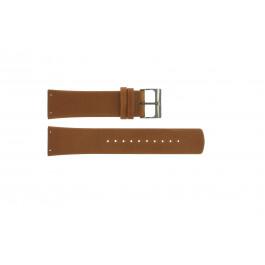 Cinturino per orologio Skagen SKW6106 Pelle Cognac 22mm