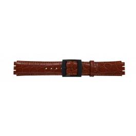 Cinturino per orologio Swatch (alt.) SC10.03 Pelle Cognac 17mm