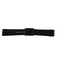 Cinturino per orologio Swatch (alt.) SC15.01 Pelle Nero 16mm