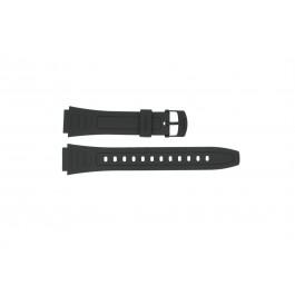 Casio cinturino orologio 10268612 Plastica Nero 18mm