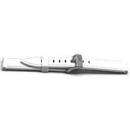 Cinturino per orologio Universale XH21 Gomma Bianco 22mm