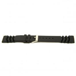 Cinturino per orologio Universale XG11 Plastica Nero 20mm