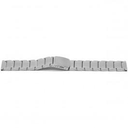 Cinturino dell'orologio YI33 Metallo Argento 24mm