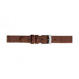 Morellato cinturino dell'orologio Thin D2860656041CR06 / PMD041THINA06 Pelle di coccodrillo Marrone 6mm