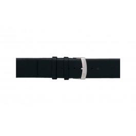 Morellato cinturino dell'orologio Large X3076875019CR26 / PMX019LARGE26 Cuoio morbido Nero 26mm