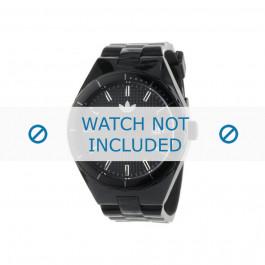 Cinturino per orologio Adidas ADH2047 Silicone Nero