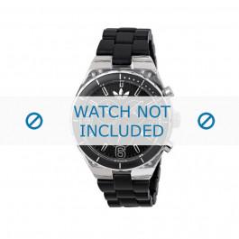 Cinturino per orologio Adidas ADH2542 Gomma Nero 8mm