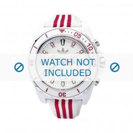 Cinturino per orologio Adidas ADH2666 Silicone Bianco 24mm