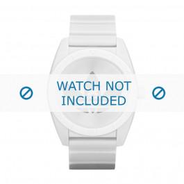 Cinturino per orologio Adidas ADH2703 Plastica Bianco 22mm