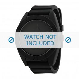 Cinturino per orologio Adidas ADH2710 Silicone Nero 24mm