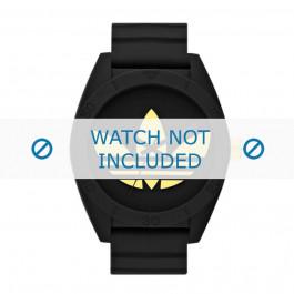 Cinturino per orologio Adidas ADH2712 Silicone Nero 24mm
