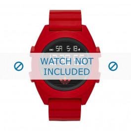 Cinturino per orologio Adidas ADH2909 Silicone Rosso 24mm