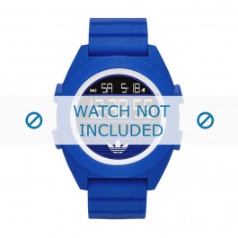 Cinturino per orologio Adidas ADH2910 Silicone Blu 24mm