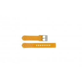 Adidas cinturino orologio ADH2105 Gomma Arancione 18mm