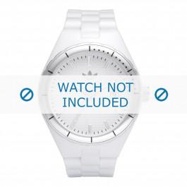 Cinturino per orologio Adidas ADH2124 Gomma Bianco 13mm