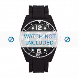 Cinturino per orologio Adidas ADH6151 Gomma Nero 22mm